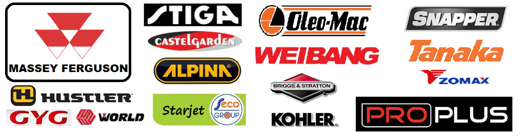 lawnmower and garden machinery brands