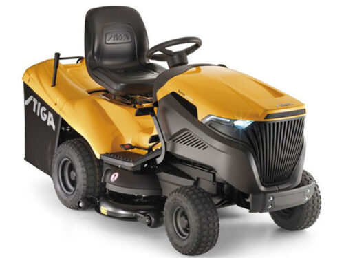 stiga estate mower