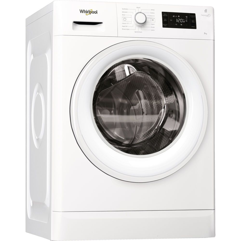 Whirlpool 8kg washing machine