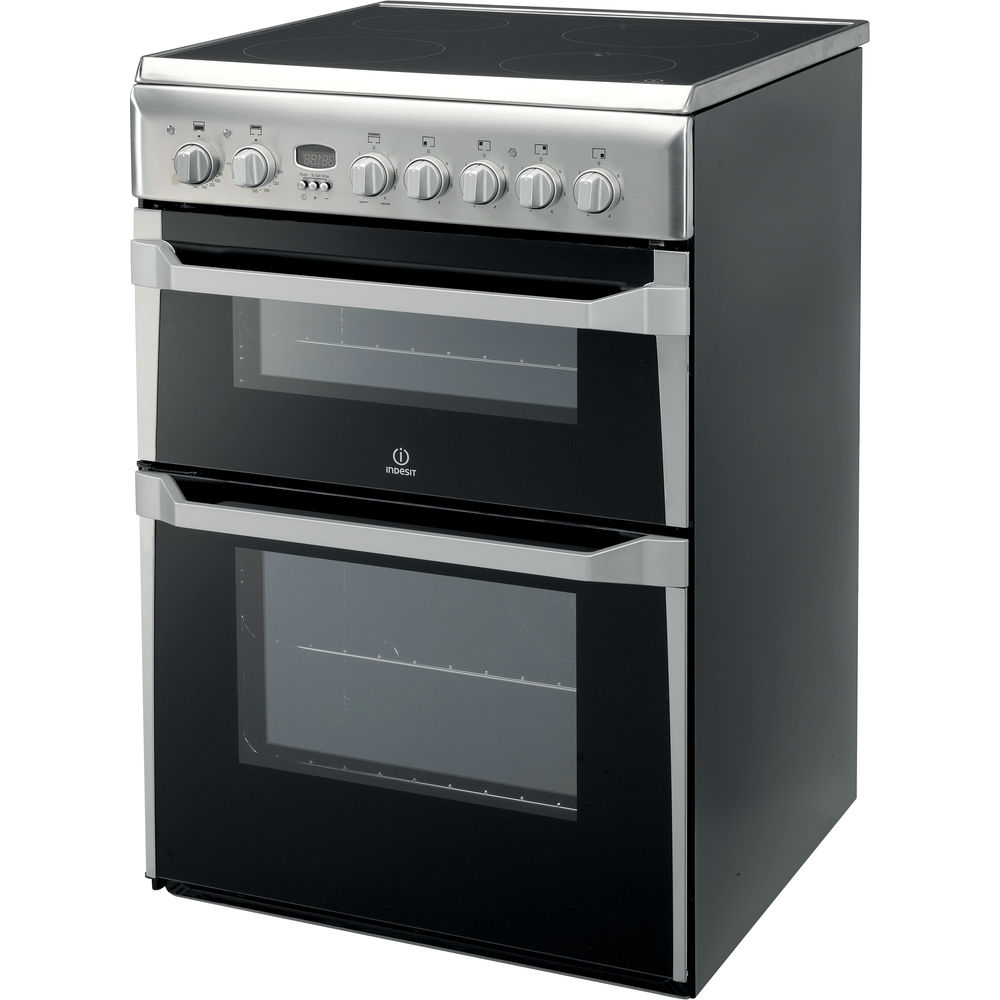 indesit silver cooker
