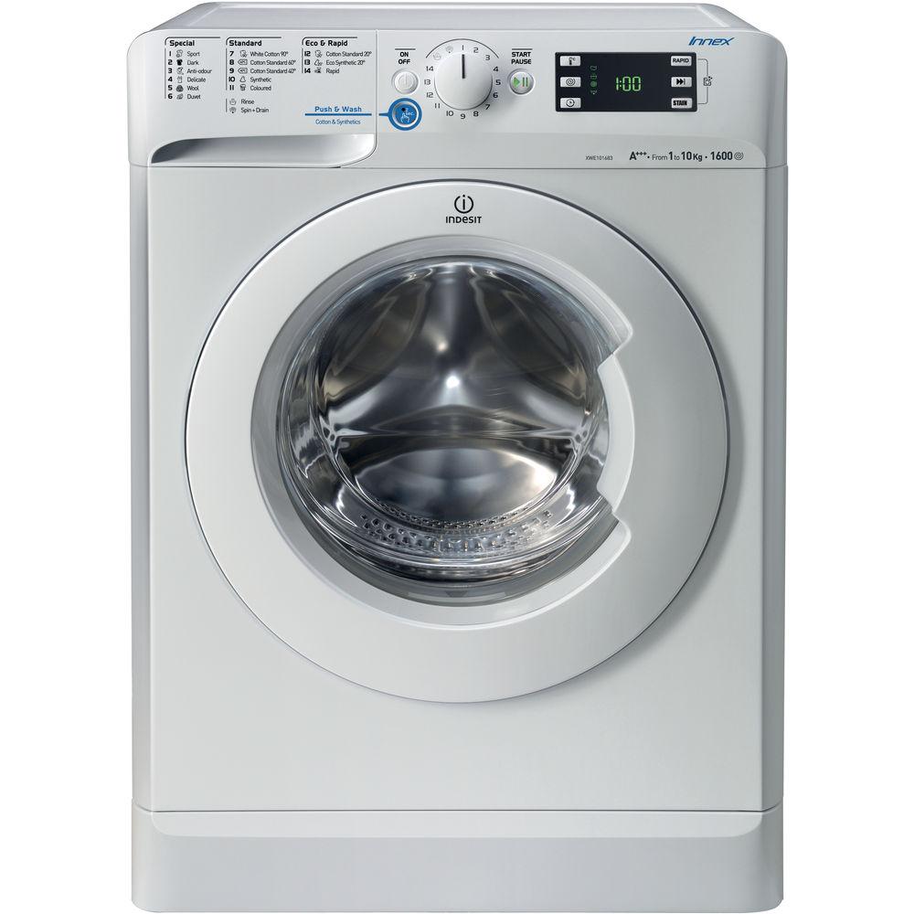 indesit 10kg washing machine