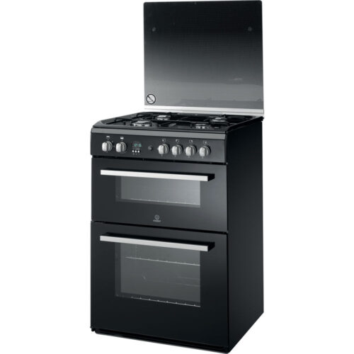 indesit DD60G2CG gas cooker