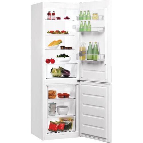 indesit white fridge freezers