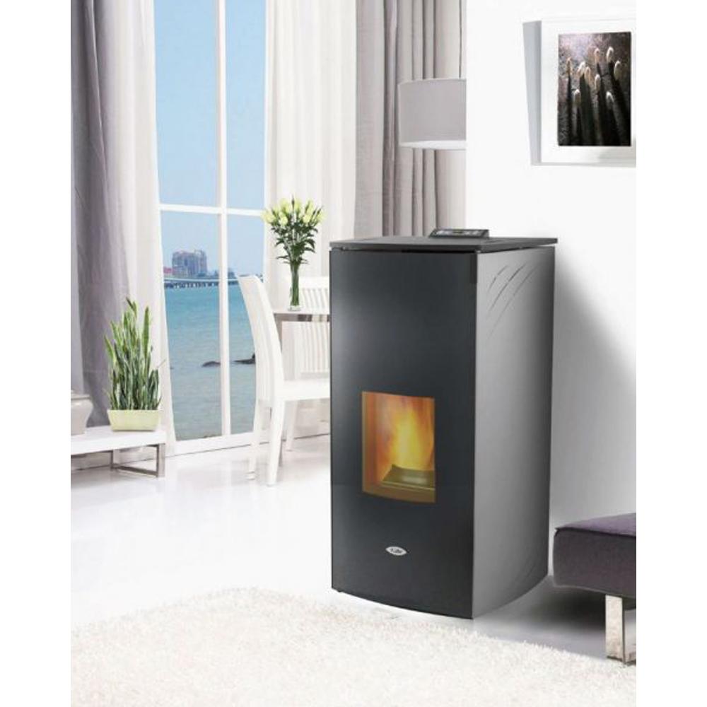 Wood Pellet Boiler >> Kalor Francesca Wood Pellet Boiler Stove