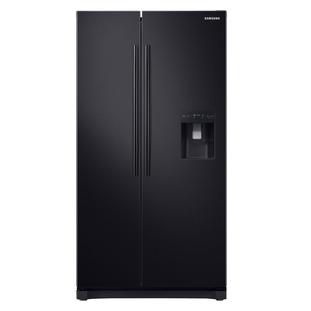255c5b96a8fc Samsung RS52N3213BC American Fridge Freezer in Black | Toss Bryan