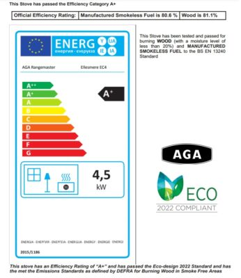 AGA Ellesmere 4 4.1KW