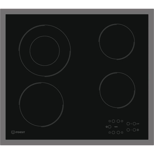 indesit black hob