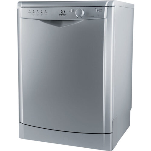indesit silver dishwasher