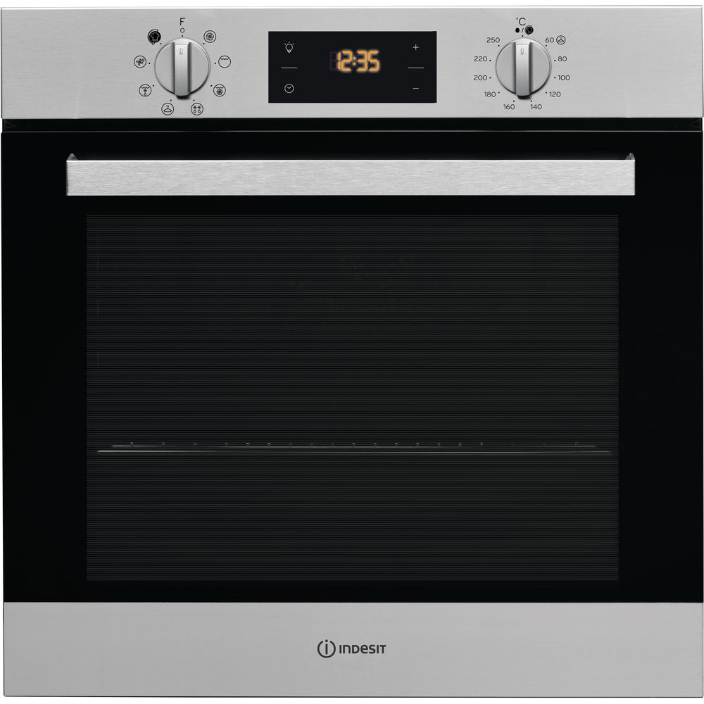 indesit stainless steel