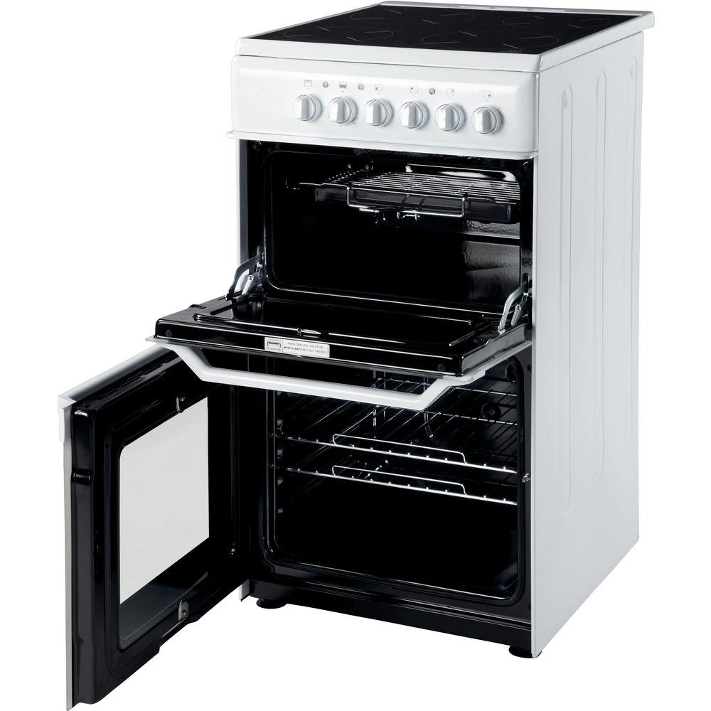 indesit white cooker