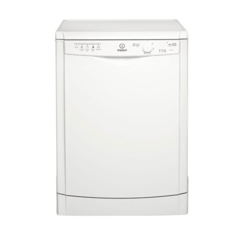 indesit white dishwasher