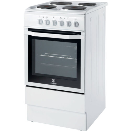 indesit white electric cooker