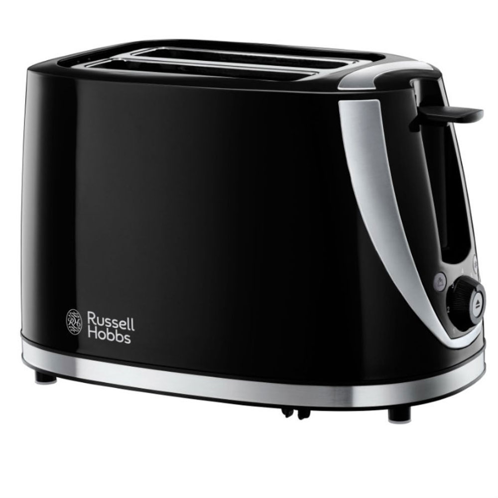 russell hobbs mode 2 slice toaster black