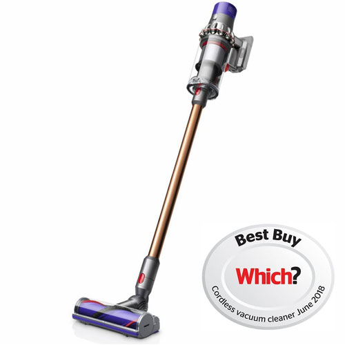 Dyson Cyclone V10 Absolute Cordless Vacuum Cleaner Copper Nickel