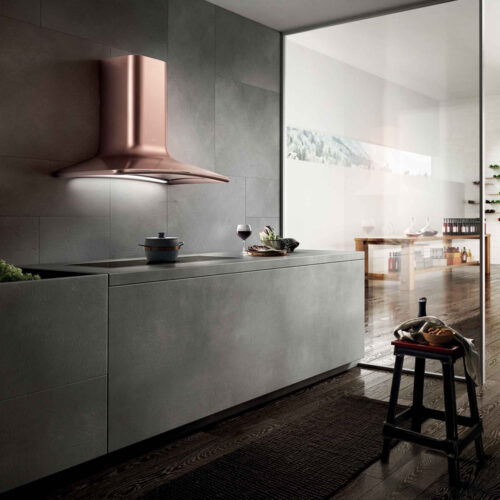 dolce copper cooker hood