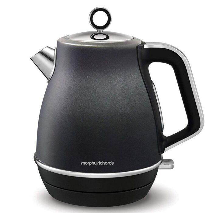 morphy richards black kettle