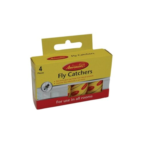 aeroxon fly catcher papers 4 pack