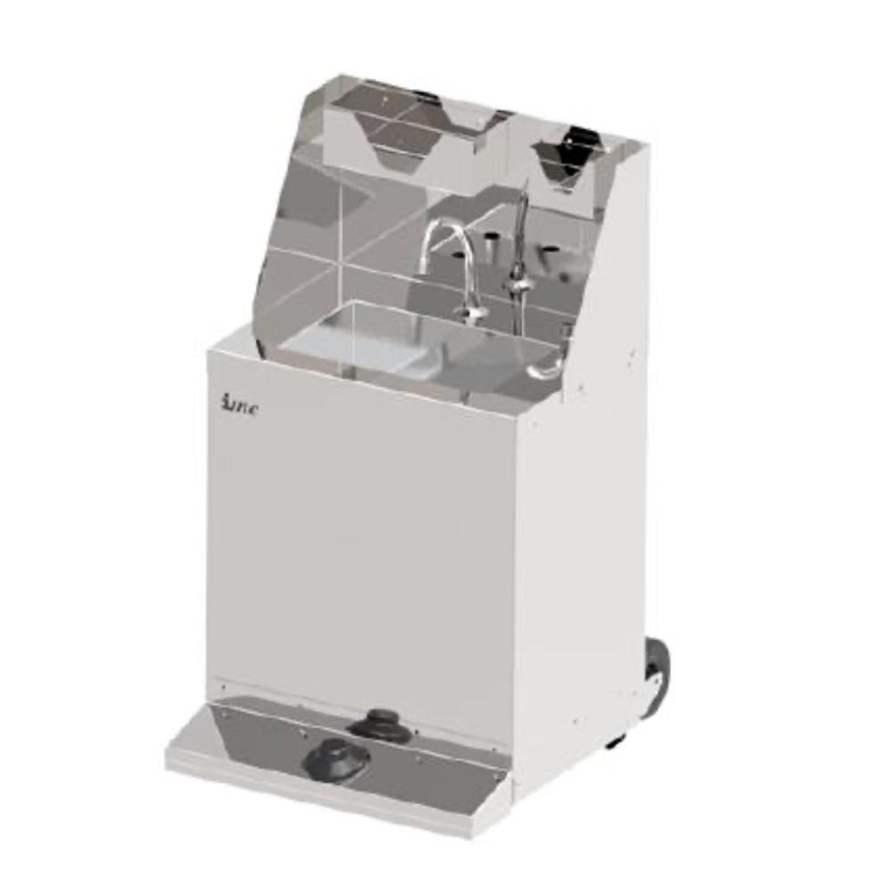 f63/700 mobile hand wash station
