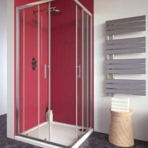 corner entry 800 shower door